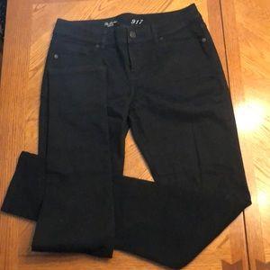 The Limited Denim 917 Black Skinny Jean Size 10L